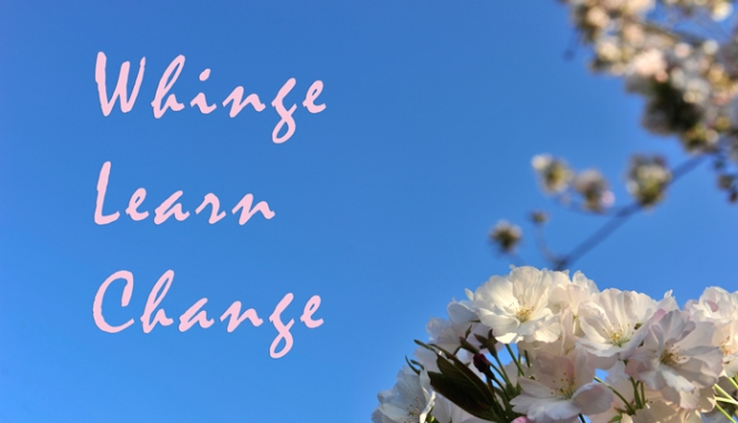 Whinge-Learn-Change